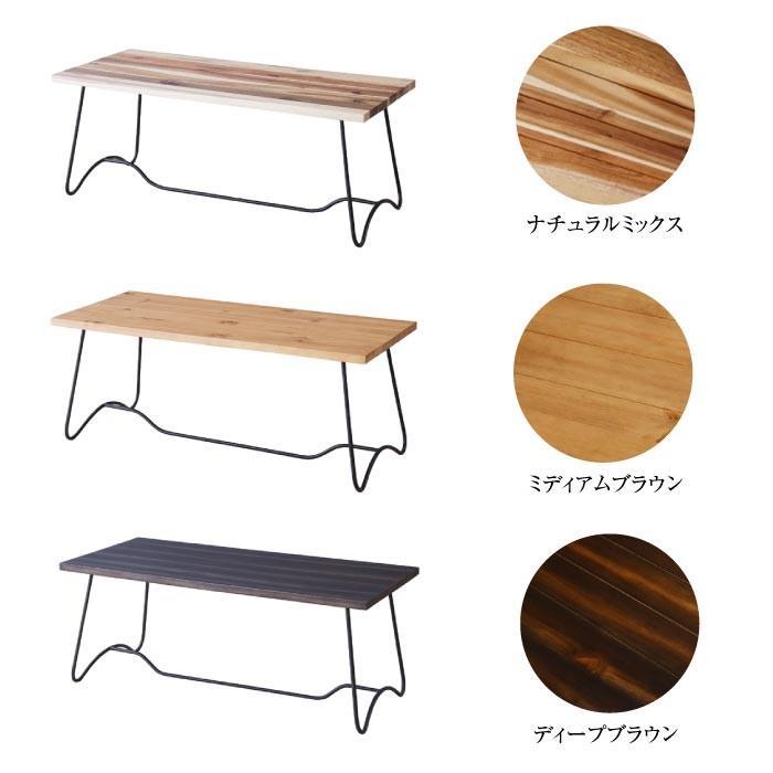 北欧 モダン コーヒーテーブル テーブル 幅100cm アンティーク  ナチュラル 北欧 モダン 西海岸 ナチュラルテイスト NW-111NA NW-111MBR NW-111DBR lily-birch 04