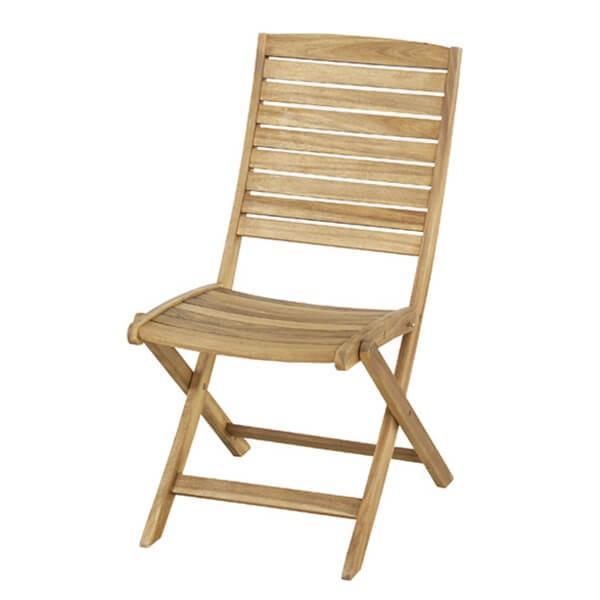 Nino ニノ 木製 折りたたみチェア 天然木 カフェ リビングチェア イス 椅子 チェアー ダイニング テラス アウトドア レジャー BBQ テラス 屋外 シンプル NX-801 lily-birch 04
