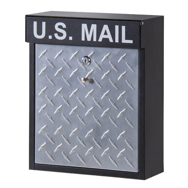 U.S.MAIL デザイン ポスト Bタイプ メールボックス 郵便ポスト 壁掛けポスト 玄関ポスト 鍵付き おしゃれ 男前 アメリカン インダストリアル PST-215B|lily-birch|05