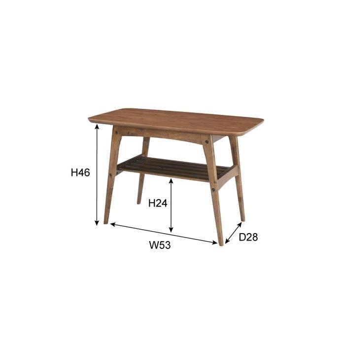 コーヒーテーブル Sサイズ 天然木 センターテーブル リビングテーブル コーヒーテーブル シンプル カフェ モダン ローテーブル TAC-227WAL lily-birch 03