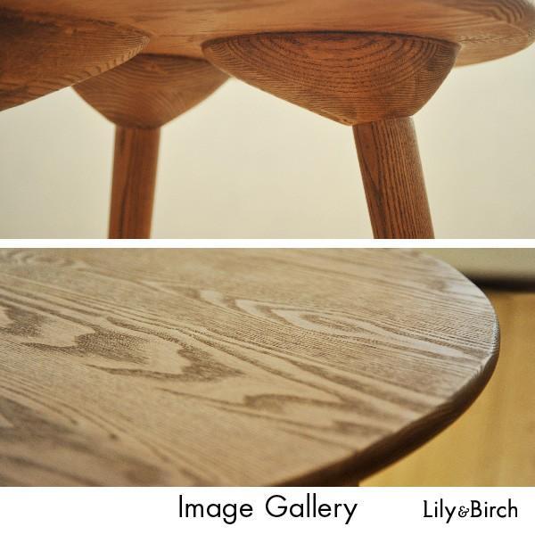 北欧スタイル 無垢サイドテーブル Side Table 3脚 リプロダクト ジャネリック家具 北欧 サイドテーブル ナイトテーブル 無垢材 完成品 lily-birch 04