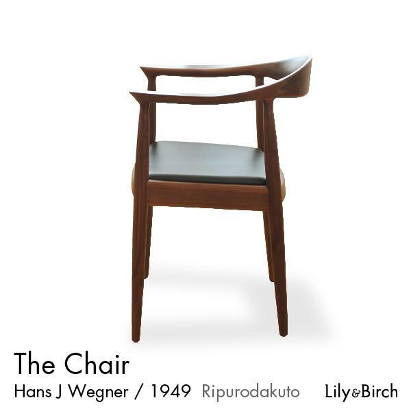 北欧チェア PP503 ザ・チェア The Chair ブラックウォルナット おしゃれ ダイニングチェア ウェグナー リプロダクト デザインチェアー 無垢材 完成品 lily-birch 02