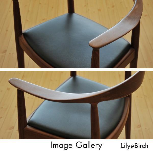 北欧チェア PP503 ザ・チェア The Chair ブラックウォルナット おしゃれ ダイニングチェア ウェグナー リプロダクト デザインチェアー 無垢材 完成品 lily-birch 04