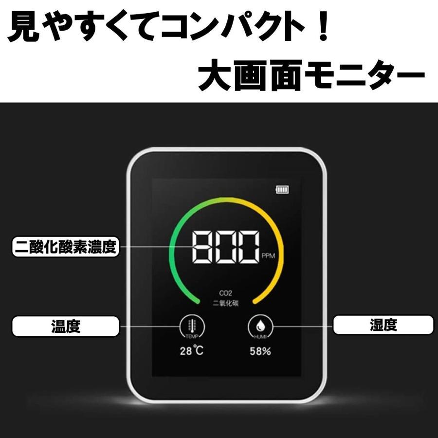 【テレビで紹介】CO2センサー 二酸化炭素 濃度計 測定器 計測 計測器 飲食店 予防 気温 湿度 センサー CO2 三密 goto lime-shop-japan 02