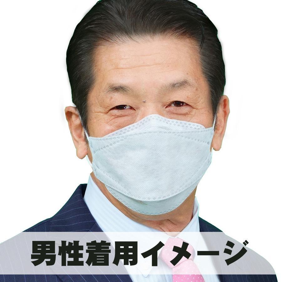 【送料無料50枚セット】GOGO789【FREE SIZE】いろはに銅マスク50枚入り 抗菌 口臭 静電気防止 曇らないマスク 立体マスク グレー【国内から即日発送】|lime-shop-japan|10