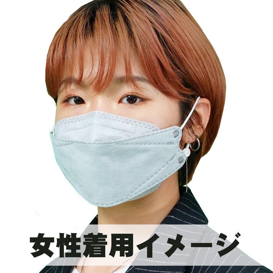 【送料無料50枚セット】GOGO789【FREE SIZE】いろはに銅マスク50枚入り 抗菌 口臭 静電気防止 曇らないマスク 立体マスク グレー【国内から即日発送】|lime-shop-japan|12
