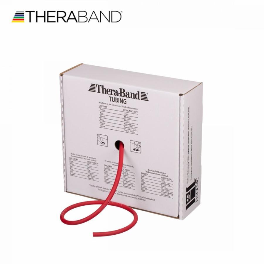 セラバンド セラチューブ セール商品 直送商品 赤 レッド ミディアム 徳用サイズ トレーニングチューブ 合計30.48m TheraBand 100フィート