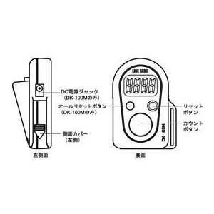 デジタル数取器(卓上タイプ) DK-100D|line|02