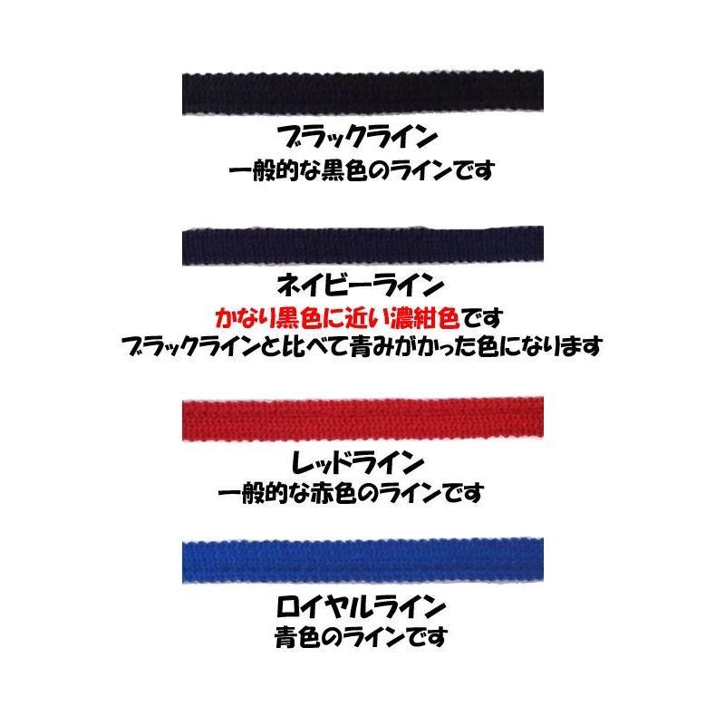 ライン加工パンツ デサント 野球 ユニフォームパンツ ストレート・ショートフィット 色:ホワイト liner 05