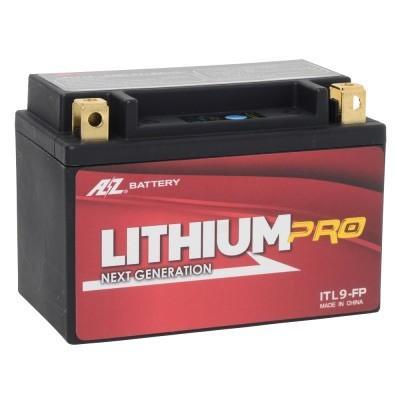 ITL9-FP ZZ-R400 型式:ZX400N6F (YTX12-BS互換) スペーサー付 1年保証 AZリチウム PROバッテリー