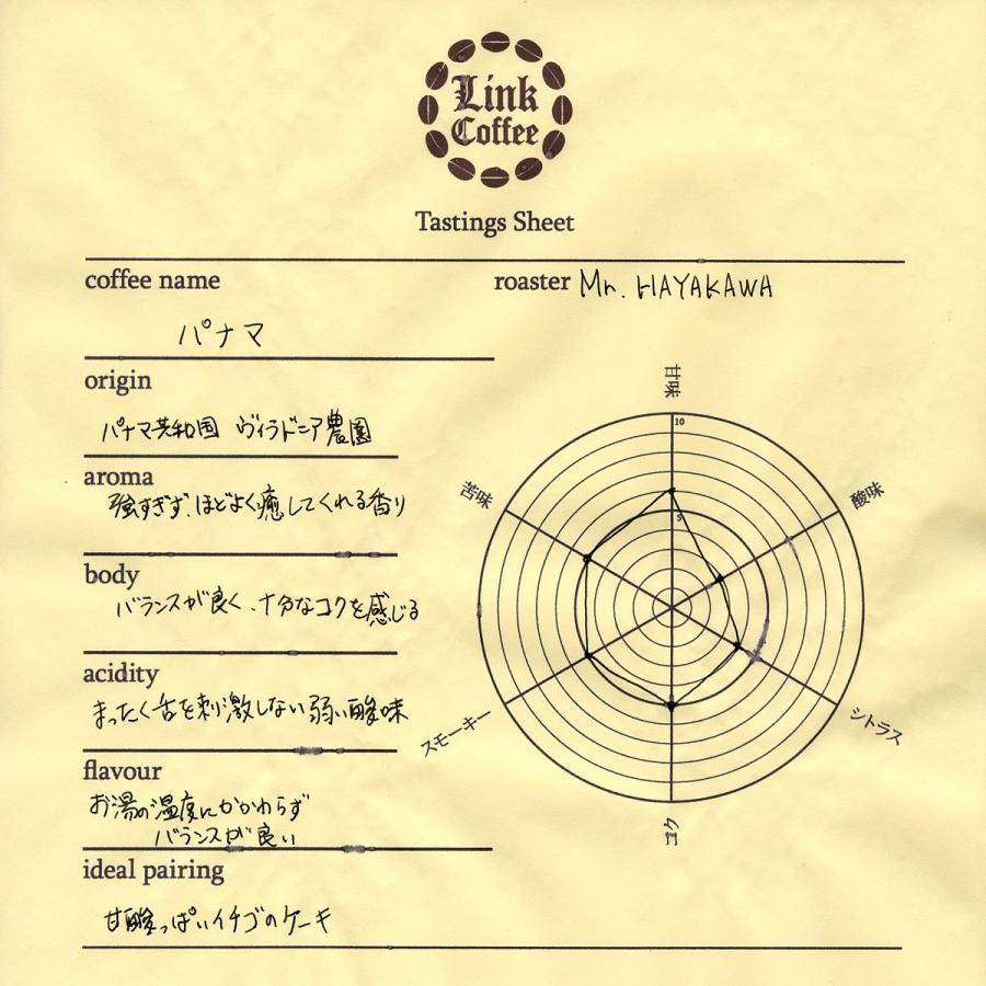 コーヒー豆 コーヒー 珈琲  200g  パナマ 自家焙煎 コク 人気 link-coffee 02