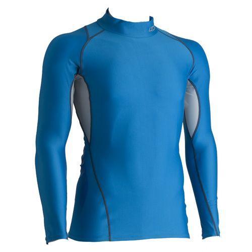 4DM(フォーディーエム)【最終処分/ランニング用品】 ロングスリーブシャツ 4DMB0403 -ブルー-