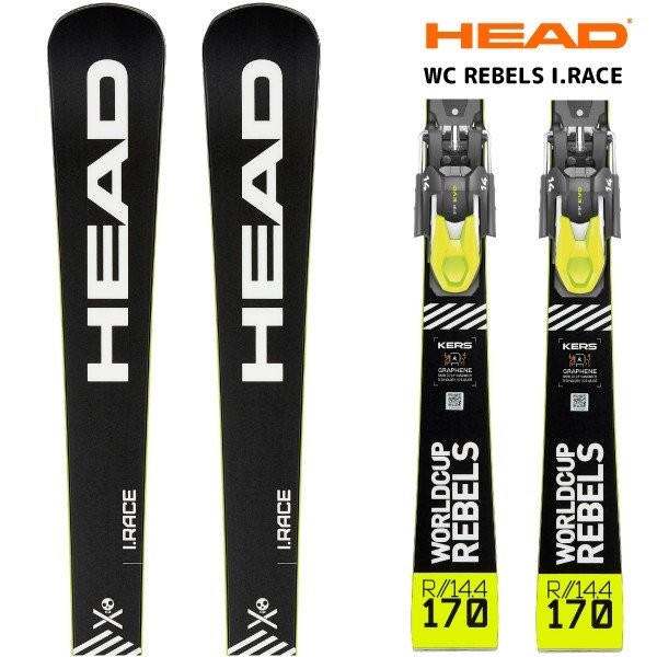 19-20 HEAD(ヘッド)【数量限定/スキー板/金具付】 WORLDCUP WORLDCUP WORLDCUP REBELS I.RACE(WC レベルズアイレース 金具付)313269【金具取付無料】 76e