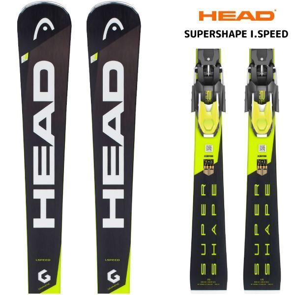 18-19 HEAD(ヘッド)【在庫処分/スキー板/金具付】 SUPERSHAPE I.SPEED(スーパーシェイプ アイスピード 金具付)313328【金具取付無料】
