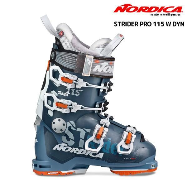 19-20 NORDICA(ノルディカ)【ブーツ/数量限定】 STRIDER PRO 115 W DYN(ストライダープロ115 ウィメンズ DYN)【スキーブーツ/レディス】