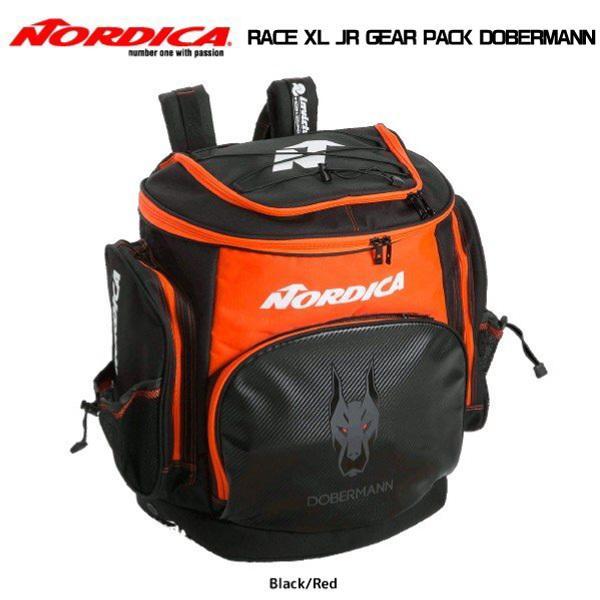 19-20 NORDICA(ノルディカ)【バッグ/数量限定】 RACE XL JR GEAR PACK DOBERMANN(レースXL ジュニアギアパック ドーベルマン)【バックパック】
