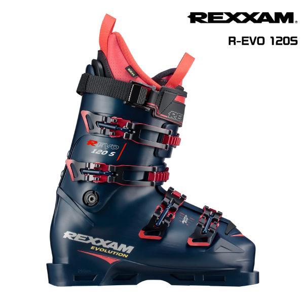 19-20 REXXAM(レクザム)【限定予約品/スキー靴】 R-EVO 120S(アールエボ 120S)BX-Hインナー【スキーブーツ】