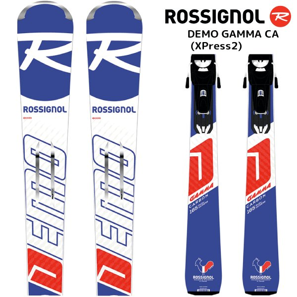 18-19 ROSSIGNOL(ロシニョール)【在庫処分商品】 DEMO GAMMA CA(XPress2)(デモガンマ CA 金具付)RAHBZ03【スキー板/取付料無料】