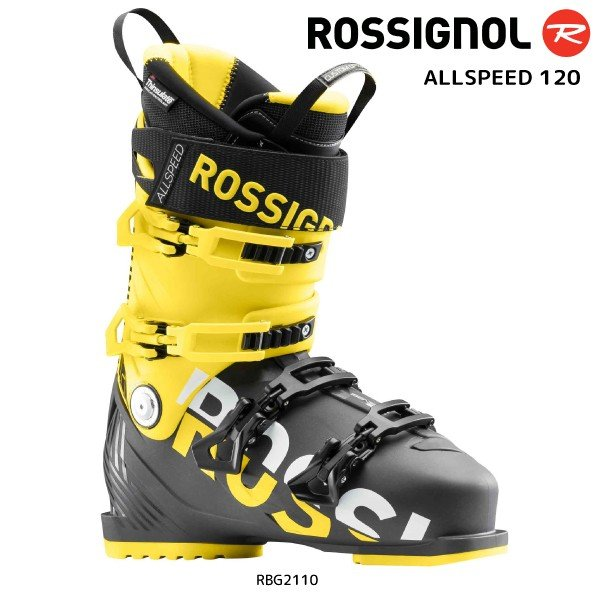 18-19 ROSSIGNOL(ロシニョール)【在庫処分商品】 ALLSPEED 120(オールスピード120)RBG2110【スキーブーツ】