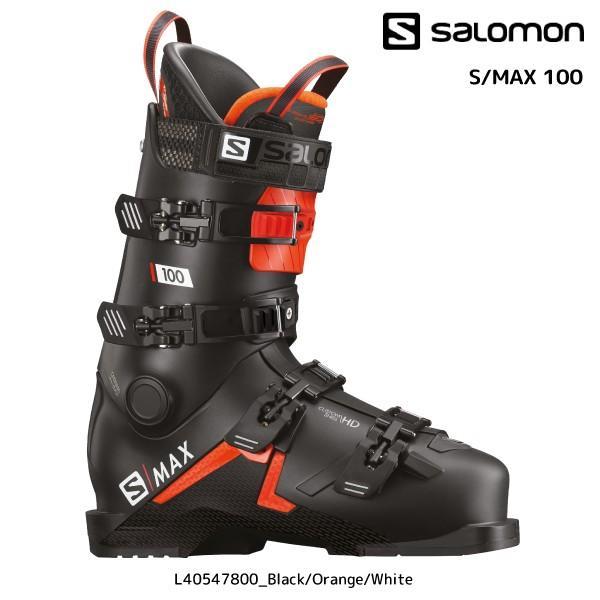 19-20 SALOMON(サロモン)【早期予約/スキー靴】 S/MAX 100(S/マックス 100)L40547800【スキーブーツ】