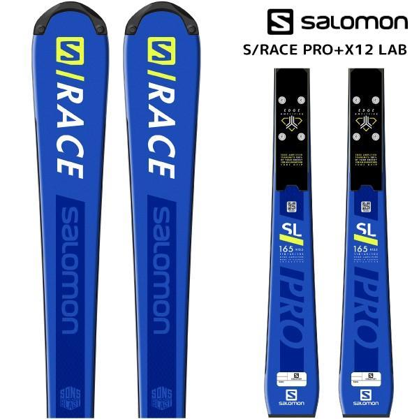 超爆安 18-19 PRO SALOMON(サロモン)【スキー板/数量限定 +】 S/RACE 18-19 PRO + X12 LAB(エスレースプロ165 金具付)【金具取付無料】, ナナカイムラ:f68b115b --- airmodconsu.dominiotemporario.com