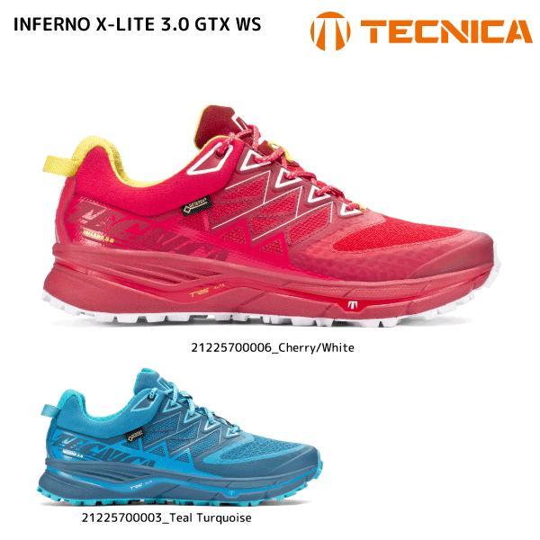 TECNICA(テクニカ)【在庫処分/トレランシューズ】 INFERNO X-LITE 3.0 GTX WS(インフェルノ XLT3.0GTX ウィメンズ)21225700【トレイルランニング/レディス】