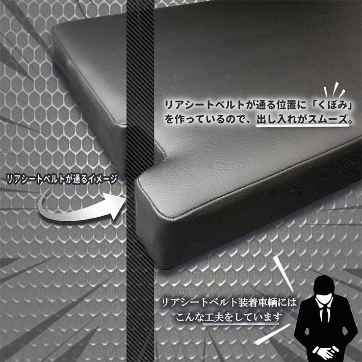 ハイエース 200系  ベッドキット  標準  S-GL ダブルライン 45mmクッション 1型〜6型対応 送料無料キャンペーン|linksfactoryjp|05