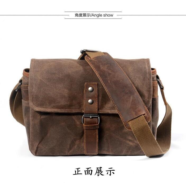カメラバッグ ショルダー ミラーレス 一眼 一眼レフ カメラ 防水 ファッション バッグ かばん 鞄 カバン 保護 撮影 写真 アウトドア 散歩 旅行|linqiu-741213|11