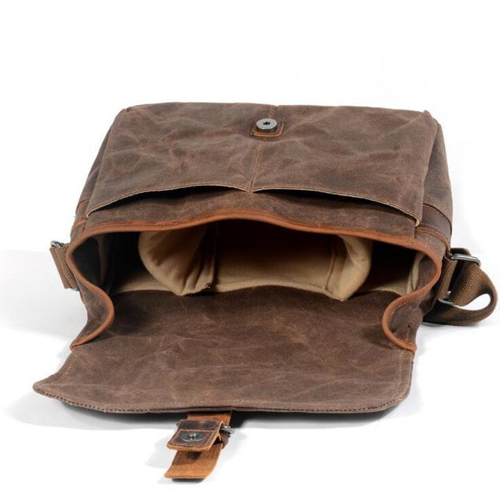 カメラバッグ ショルダー ミラーレス 一眼 一眼レフ カメラ 防水 ファッション バッグ かばん 鞄 カバン 保護 撮影 写真 アウトドア 散歩 旅行 linqiu-741213 05