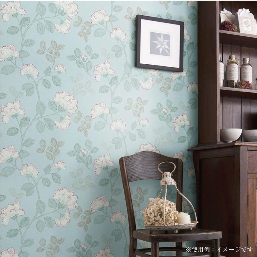 生のり付き壁紙レトロな花柄アジアン風今貼ってある壁紙の上から貼れる重ねて貼れる92cm 2 5m Hknf05 プチリフォーム商店街 通販 Yahoo ショッピング