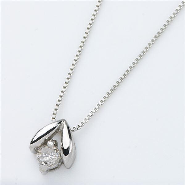 【お買い得!】 プラチナPT900 天然ダイヤモンドペンダント/ネックレス0.05CT, インテリア雑貨Cute 656ec906