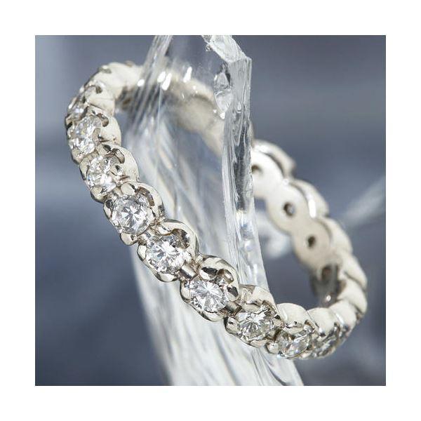 【現金特価】 プラチナPt900 /1ctフルエタニティダイヤリング 指輪 ペアリング 11号, みるくモーモ 5f88eea5