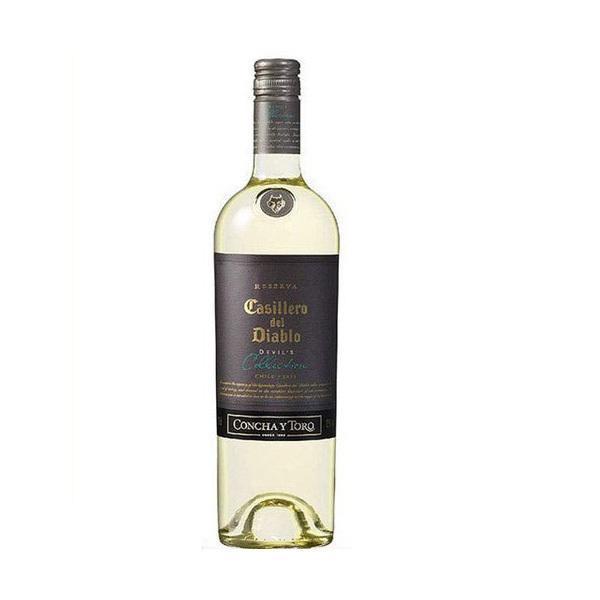 送料無料 チリワイン 白 カッシェロ·デル·ディアブロ デビルズ コレクション ホワイト 750ml×6本 wine