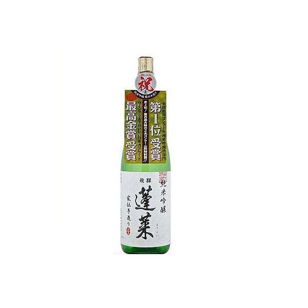 日本酒 安値 信憑 飛騨の酒 渡辺酒造店 純米吟醸 蓬莱 1本 1800ml 家伝手造り 1.8L