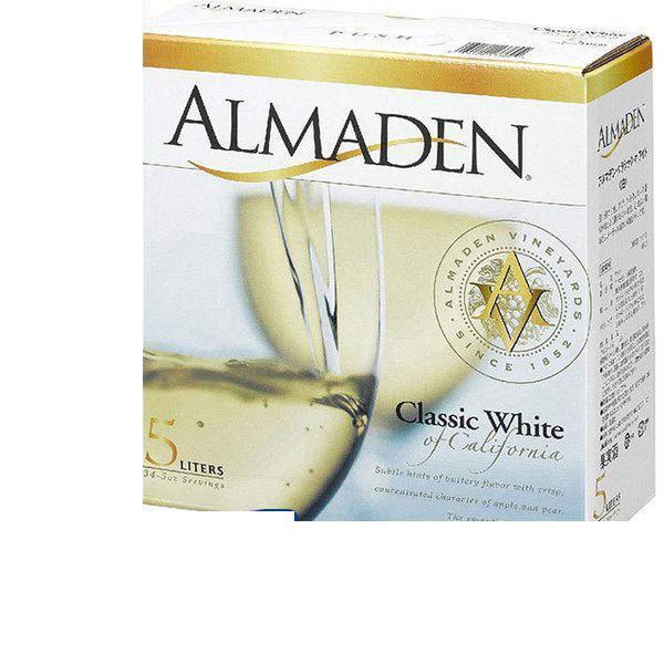 送料無料 アルマデン·クラシック·ホワイト BOX 5L×4本  wine/北海道·沖縄県·東北·四国·九州地方は必ず送料が掛かります