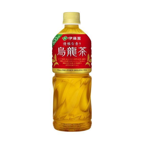 送料無料 伊藤園 烏龍茶 大幅にプライスダウン ウーロン茶 予約販売品 600ml×24本