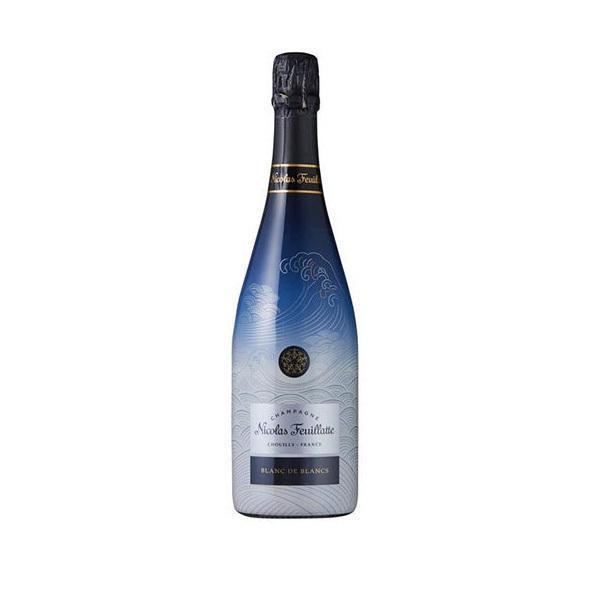 送料無料 ニコラ·フィアット ブラン·ド·ブラン ·inspired by HOKUSAI· 750ml×6本[スパークリング/ミディアムフルボディ/シャンパーニュ]wine