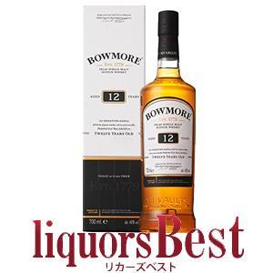 ウイスキー 内祝い ボウモア 新作アイテム毎日更新 12年 700ml whisky 洋酒 シングルモルト 箱付