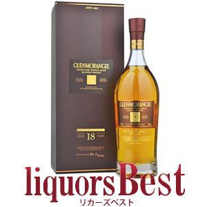 ウイスキー 正規品 グレンモーレンジ18年 700ml 箱付 シングルモルト 洋酒 whisky