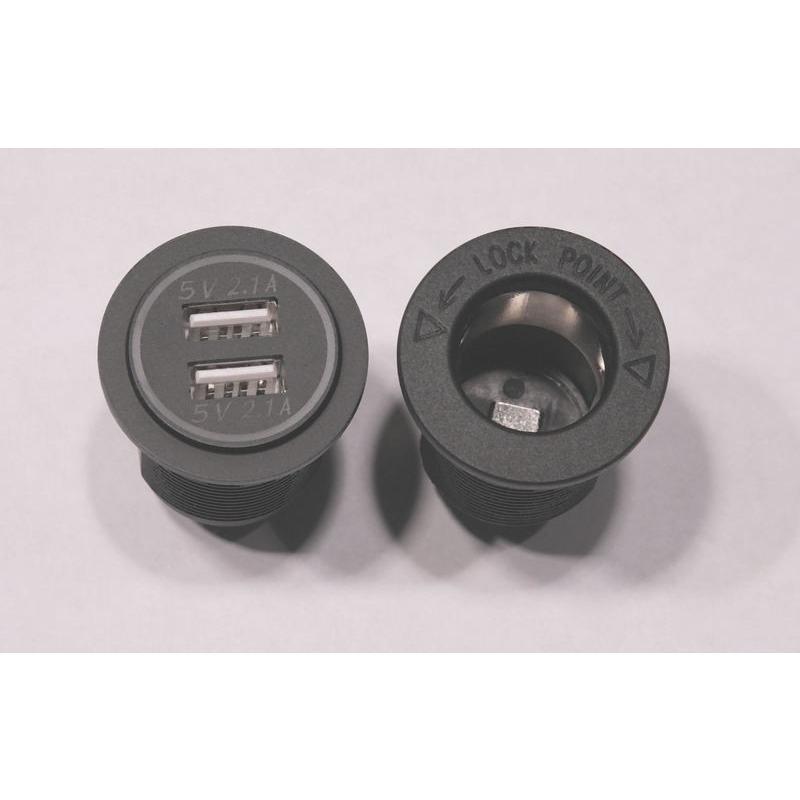 spyderextras製 CAN-AM SPYDER RT用 12ボルトソケット&USBのドッキングステーション 〜2019年モデル用 lirica-store 04