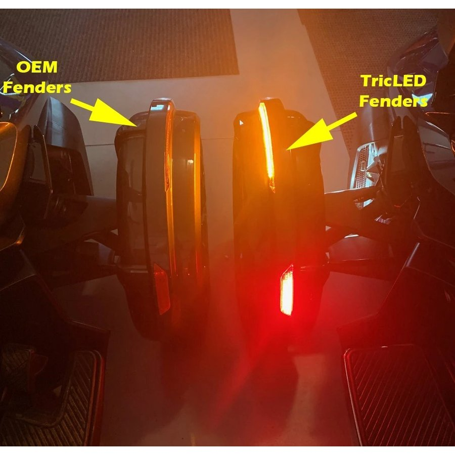 TricLED シーケンシャルLED SpyderFenderZ SPYDER RT 2020〜モデル用|lirica-store|02