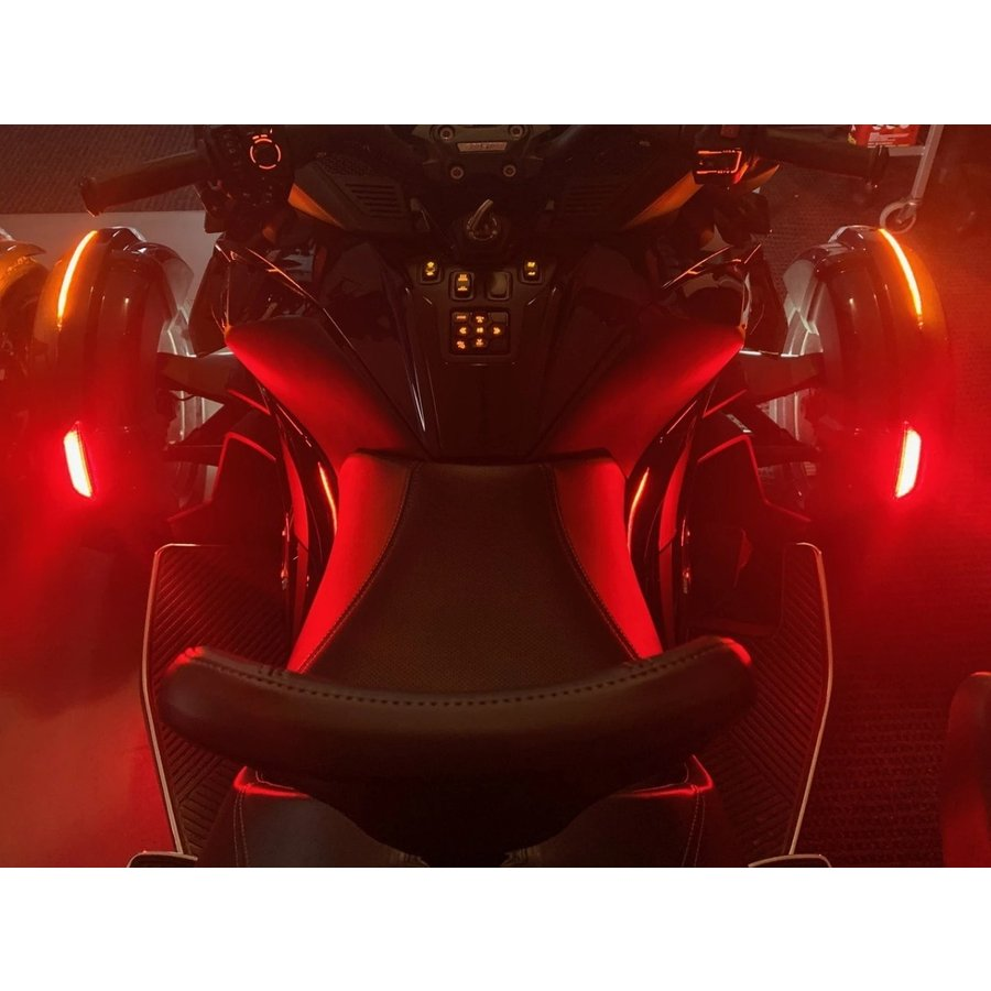 TricLED シーケンシャルLED SpyderFenderZ SPYDER RT 2020〜モデル用|lirica-store|04