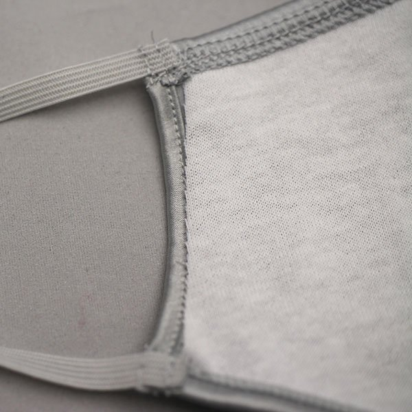 コットンクラブ  おしゃれマスク 予防 シルク シルバー イタリア製 当商品はクリックポスト対応、送料無料でお送りします。|lisecharmel|04
