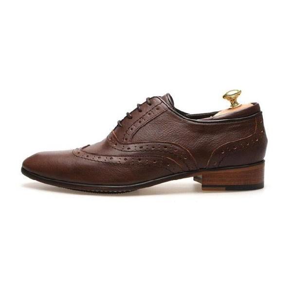 本革 ウイングチップ メダリオン 紳士靴 靴 ビジネスシューズ ウィングチップ fa1441q little-globe 02