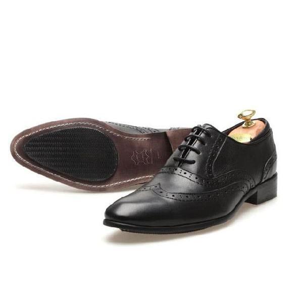 本革 ウイングチップ メダリオン 紳士靴 靴 ビジネスシューズ ウィングチップ fa1441q little-globe 04