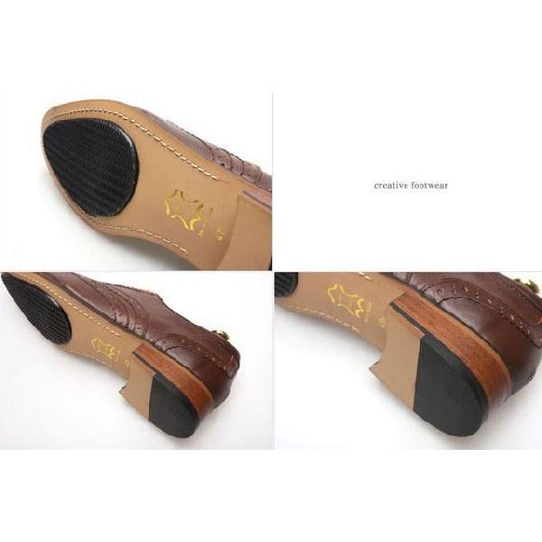 本革 ウイングチップ メダリオン 紳士靴 靴 ビジネスシューズ ウィングチップ fa1441q little-globe 05