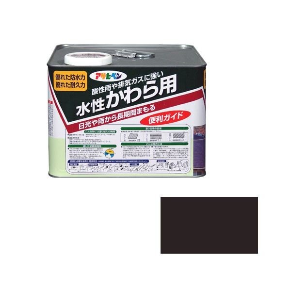 アサヒペン AP 水性かわら用 7L ココナッツブラウン