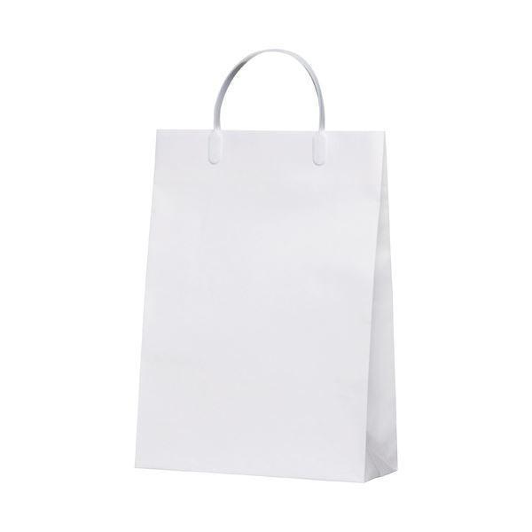 (まとめ)今村紙工 白コーティングバック10枚KWCB-01〔×5セット〕