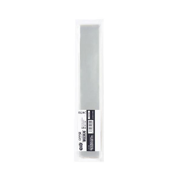 (まとめ) TANOSEE OPP袋 フラット 筆記具用 35×220mm 1セット(500枚:100枚×5パック) 〔×10セット〕