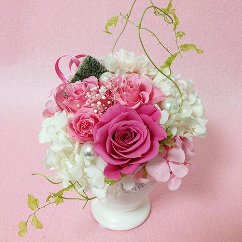 プリザーブドフラワーエンジェル 誕生日 結婚祝い 花 ギフト プレゼント お祝 送料無料|littleangel